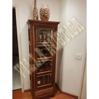 Armário Cristaleira Charutinho - Madeira de Demolição