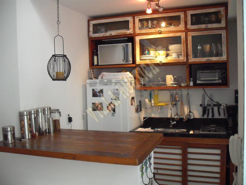 Cozinha Madeira de Demolição - Morumbi
