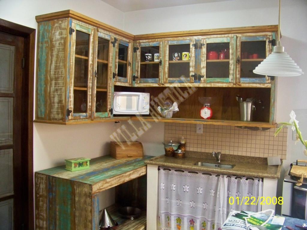 Cozinha Madeira de Demolição - Ribeirão Pires