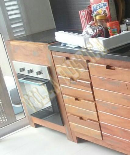 Cozinha Madeira de Demolição - Bela Vista
