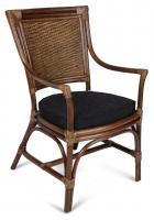 Cadeira Alfa Apuí Junco Natural com Braço