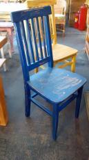 Cadeira Luiza Patina Azul