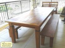 Mesa Mineira - peroba - madeira demolição