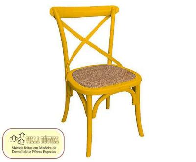 Cadeira Cross colorida