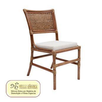 Cadeira Thiga Junco e fibra Natural