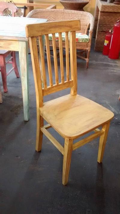 Cadeira Luiza Patina Laranja