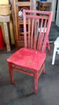 Cadeira Pequim Pátina Vermelha